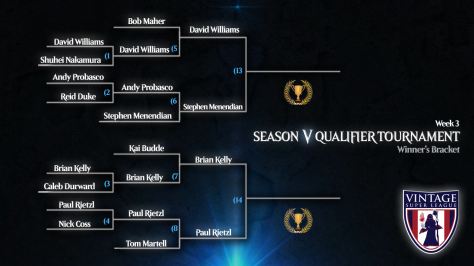 VSL Winners Bracket W3